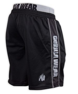 Fitness Shorts Heren Zwart Grijs - Gorilla Wear California-2