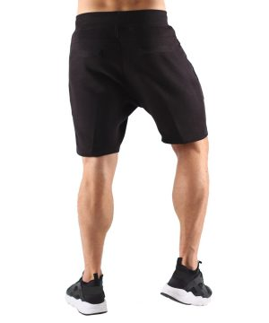 Fitness Shorts Heren Zwart - Muscle Brand-3