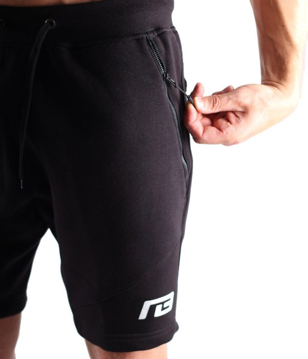 Fitness Shorts Heren Zwart - Muscle Brand-4