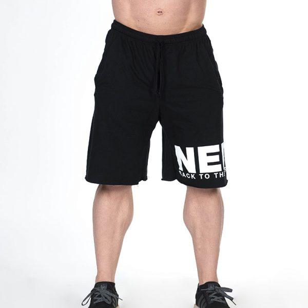 Fitness Shorts Heren Zwart - Nebbia Hard Core 343-1