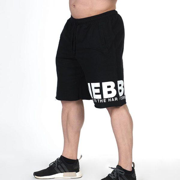 Fitness Shorts Heren Zwart - Nebbia Hard Core 343-2