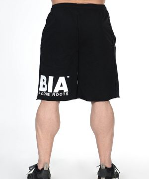Fitness Shorts Heren Zwart - Nebbia Hard Core 343-3