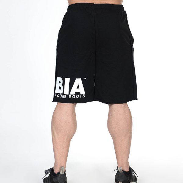 Fitness Shorts Heren Zwart - Nebbia Hard Core 343-3