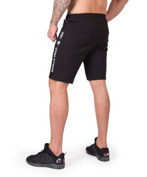 Fitness Shorts Heren Zwart Saint Thomas - Gorilla Wear-2