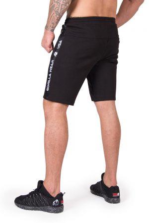 Fitness Shorts Heren Zwart Saint Thomas - Gorilla Wear-2