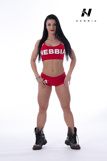 Fitness Singlet Dames Rood - Nebbia 264-1