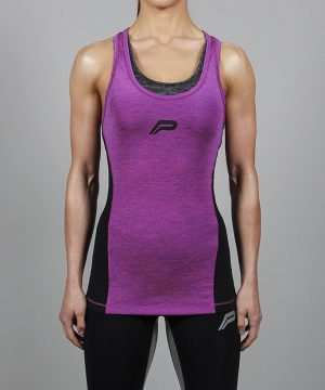 Fitness Singlet Dames Slub Paars - Pursue Fitness-2
