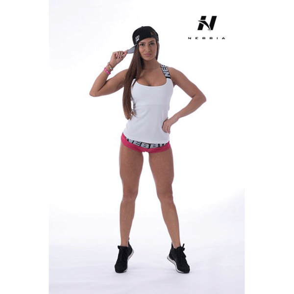 Fitness Singlet Dames Wit - Nebbia 243-1