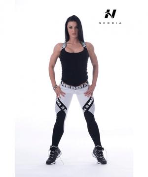Fitness Singlet Dames Zwart - Nebbia 243-1