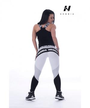 Fitness Singlet Dames Zwart - Nebbia 243-2
