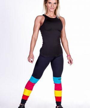 Fitness Singlet Dames Zwart - Nebbia 268-2