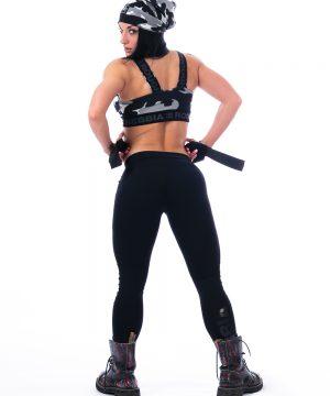 Fitness Sporttop Dames Camo Wit - Nebbia 206-2