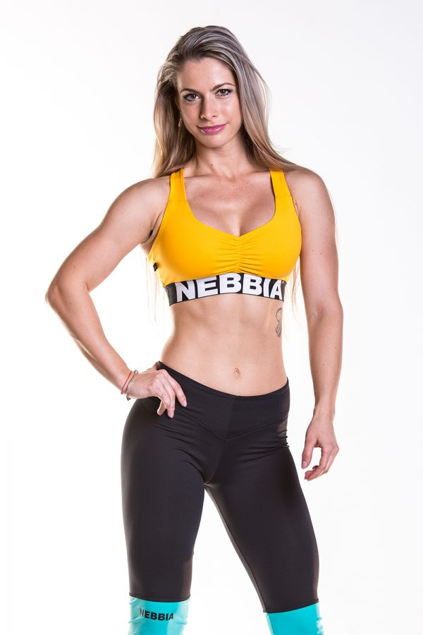Fitness Sporttop Dames Geel - Nebbia 207 Supplex-1