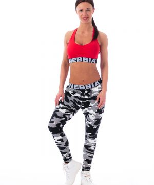 Fitness Sporttop Dames Rood - Nebbia 207 Supplex-1