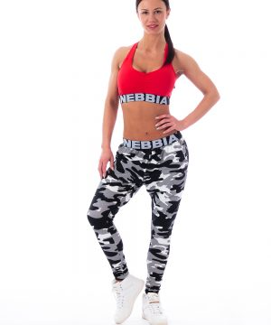 Fitness Sporttop Dames Rood - Nebbia 207 Supplex-2