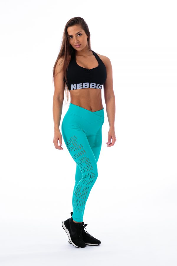 Fitness Sporttop Dames Zwart - Nebbia 207 Supplex-1