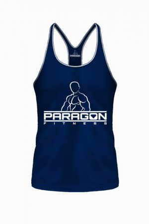 Fitness Stringer Heren Blauw - Paragon Fitness-1