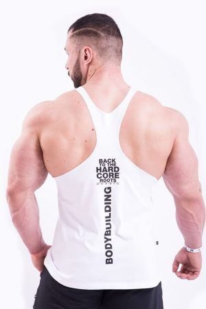 Fitness Stringer Heren Wit - Nebbia 399-2