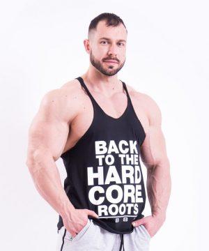 Fitness Stringer Heren Zwart - Nebbia 399-1