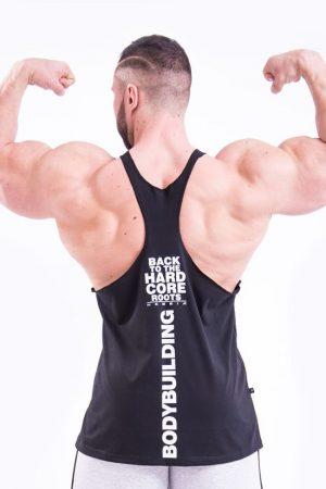 Fitness Stringer Heren Zwart - Nebbia 399-2