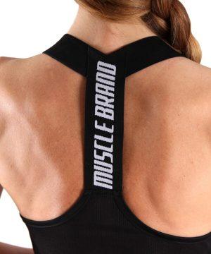 Fitness Tanktop Dames Dots Zwart - Muscle Brand-2