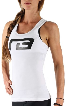 Fitness Tanktop Dames Perform Wit - Muscle Brand-1