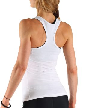 Fitness Tanktop Dames Perform Wit - Muscle Brand-2