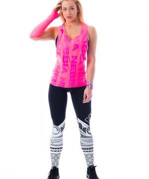 Fitness Tanktop Dames Roze Neon - Nebbia 226-2