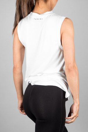 Fitness Tanktop Dames Wit - Pursue Fitness Flow Tank-2