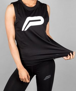 Fitness Tanktop Dames Zwart - Pursue Fitness Flow Tank-2