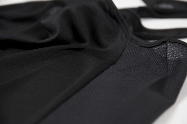 Fitness Tanktop Dames zwart grijs - Gorilla Wear Santa Monica-3
