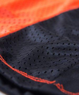 Fitness Tanktop Dames zwart oranje - Gorilla Wear Marianna-4