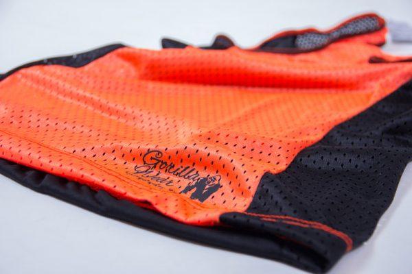 Fitness Tanktop Dames zwart oranje - Gorilla Wear Marianna-5