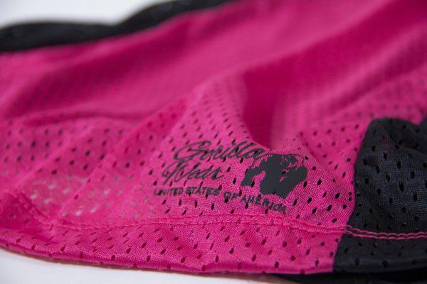 Fitness Tanktop Dames zwart roze - Gorilla Wear Marianna-4