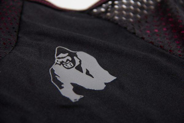 Fitness Tanktop Dames zwart roze - Gorilla Wear Marianna-6