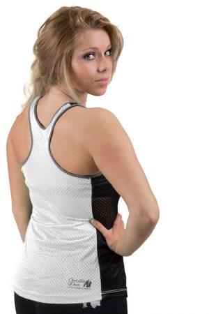 Fitness Tanktop Dames zwart wit - Gorilla Wear Marianna-2