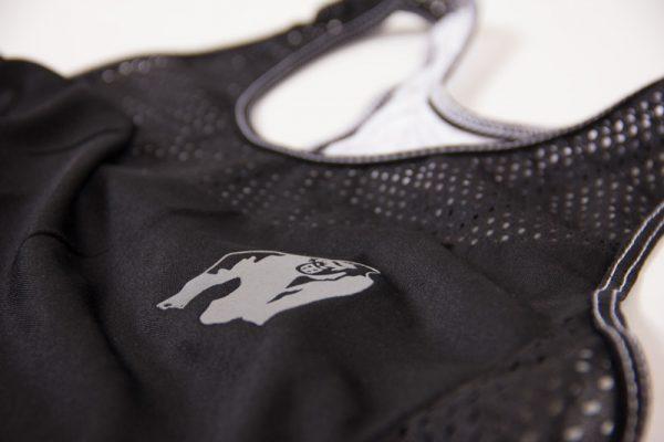 Fitness Tanktop Dames zwart wit - Gorilla Wear Marianna-3