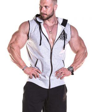 Fitness Tanktop Heren Grijs - Nebbia 316-1
