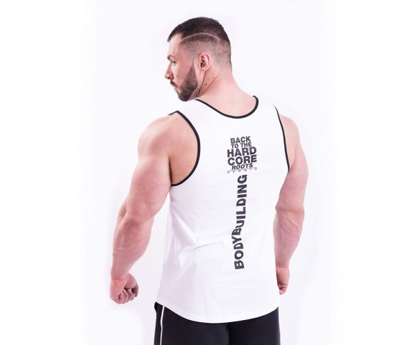 Fitness Tanktop Heren Wit - Nebbia 395-2