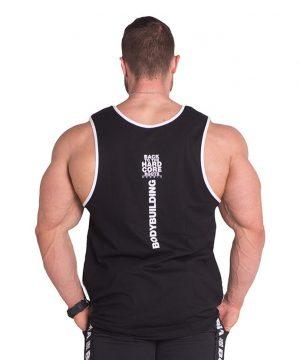 Fitness Tanktop Heren Zwart - Nebbia 395-2