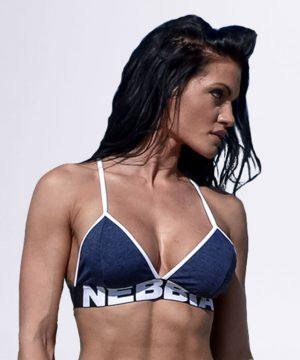 Fitness Top Dames Blauw - Nebbia Bra 267-1