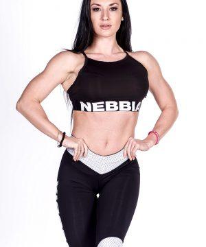Fitness Top Dames Dames Zwart - Nebbia 285-1