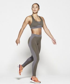 Fitness Top Dames Kaki Seamless - Pursue Fitness-4
