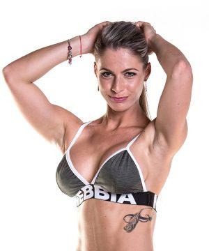 Fitness Top Dames Khaki - Nebbia Bra 267-1