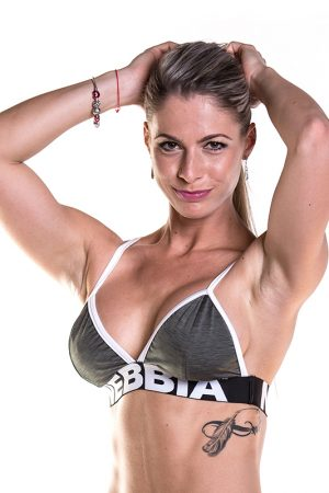 Fitness Top Dames Khaki - Nebbia Bra 267-1