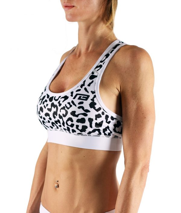 Fitness Top Dames Leopard - Muscle Brand-1