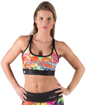 Fitness Top Dames Multicolor Mix - Gorilla Wear Venice-1