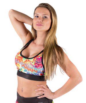 Fitness Top Dames Multicolor Mix - Gorilla Wear Venice-2