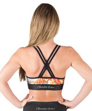 Fitness Top Dames Multicolor Mix - Gorilla Wear Venice-3