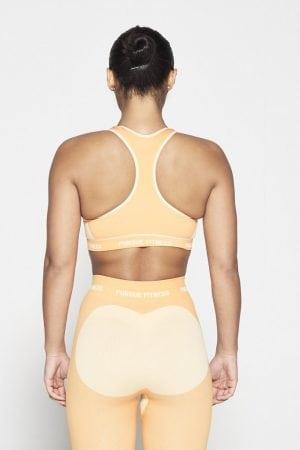 Fitness Top Dames Oranje Seamless - Pursue Fitness-3